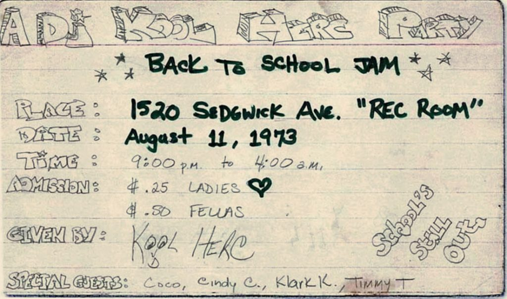&Ldquo;Hip-Hop&Rdquo; Was Created On August 11Th, 1973