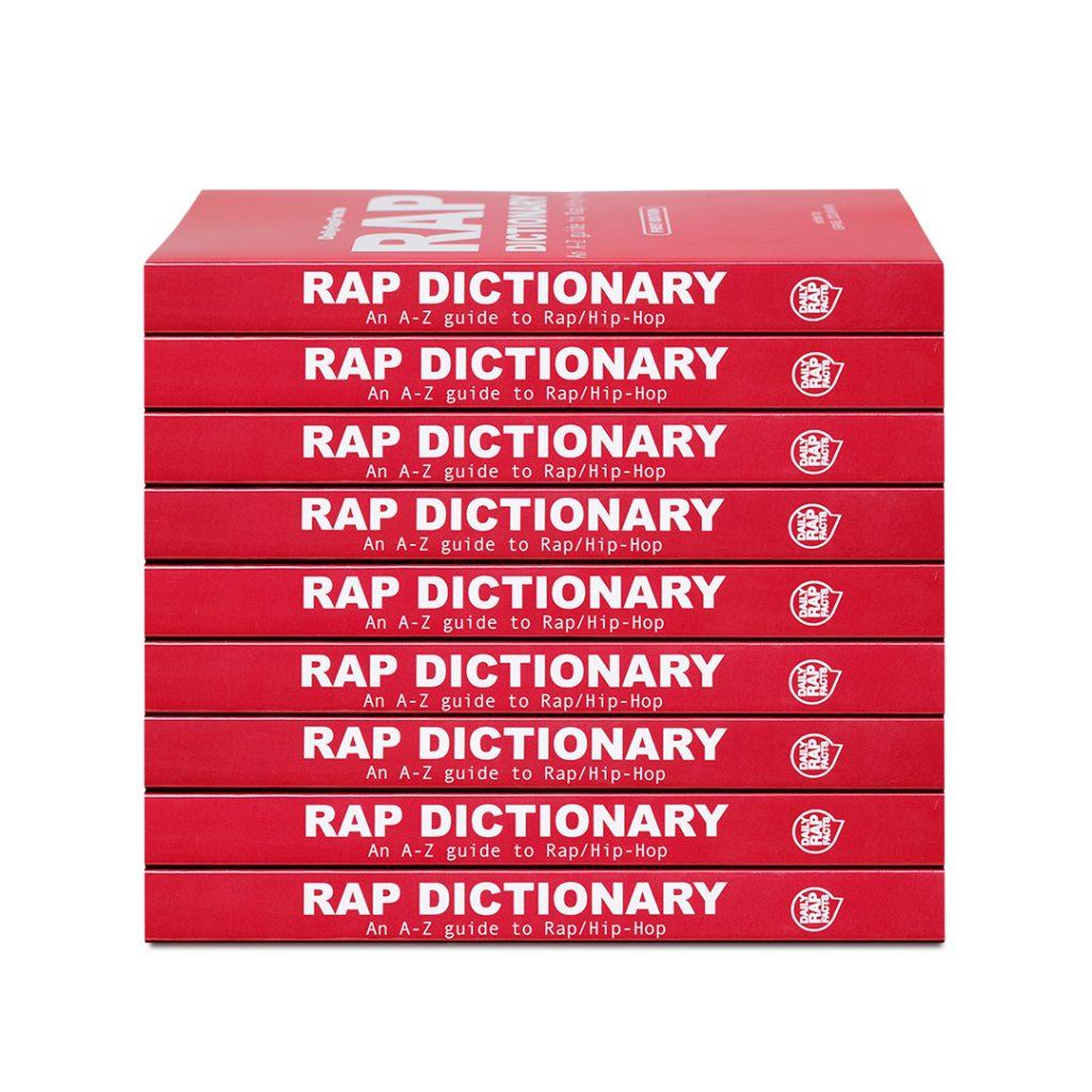 Rap Dictionary Book Inside